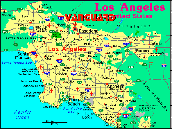 Similiar Map Of Los Angeles County Cities Keywords
